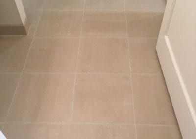 a grout staining after